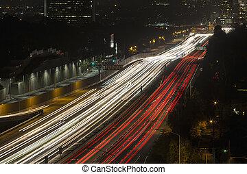 ディエゴ, san, 西, 高速道路, ロサンゼルス