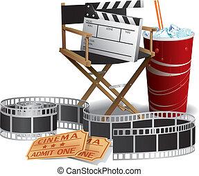 ディレクター, 映画, 椅子