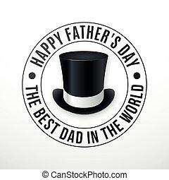 デイの父親となる, hat., 幸せ, 碑文, レトロ