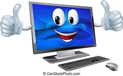 デスクトップコンピュータ, マスコット