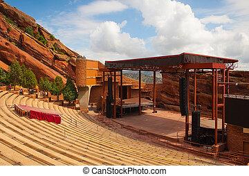 デンバー, 有名, 赤い岩, 円形劇場