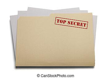 トップの秘密, ファイル