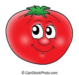 トマト, 微笑