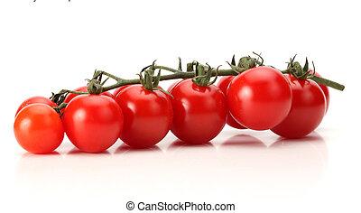 トマト, 新たに, 束, さくらんぼ