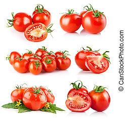 トマト, 新鮮な野菜, セット