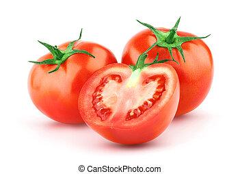 トマト, 葉, 緑