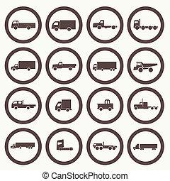 トラック輸送, アイコン