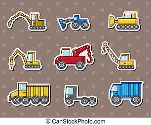 トラック, ステッカー