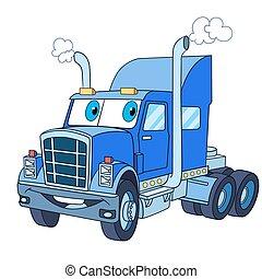 トラック, 漫画, 貨物自動車