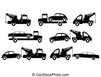 トラック, 牽引