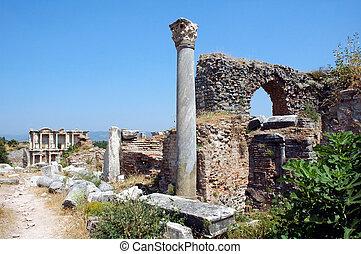 トルコ, ローマの残骸, ephesus
