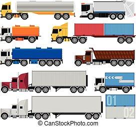 トレーラー, トラック