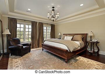 トレー, 天井, マスター, 寝室