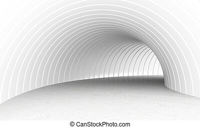 トンネル, 白