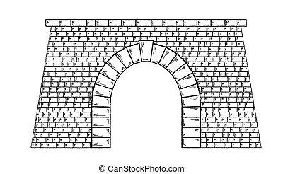 トンネル, 石