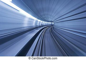 トンネル, 高いスピード, 地下鉄