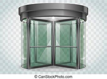 ドア, 回転式である, ショッピングセンター