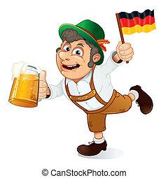 ドイツ語, 人