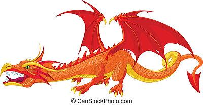 ドラゴン, 赤