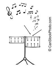ドラム, note.