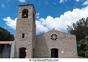 ドン, baia, franciscan, 父, giacomino, サルジニア, 教会