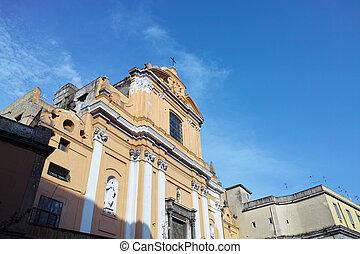 ナポリ, ファサド, 教会