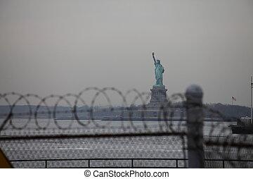 ニューヨークシティ, 像, 自由
