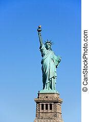 ニューヨークシティ, -, 像, 自由