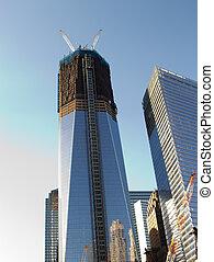 ニューヨークシティ, 自由, 建設, タワー