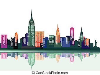 ニューヨーク, カラフルである