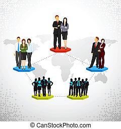 ネットワーキング, ビジネス