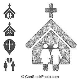 ネットワーク, 噛み合いなさい, 教会, 家族, ベクトル