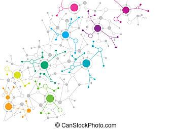 ネットワーク, 抽象的なデザイン