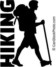 ハイキング, ハイカー, 単語