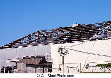 ハリケーン, 損害, 屋根