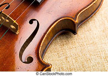 バイオリン, ぐっと近づいて