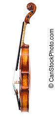 バイオリン, サイド光景