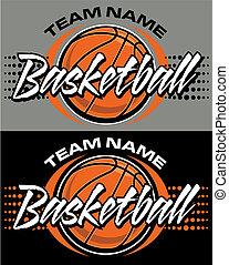 バスケットボール, デザイン