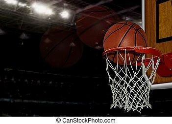 バスケットボール, 打撃
