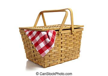 バスケット, ギンガム, ピクニック