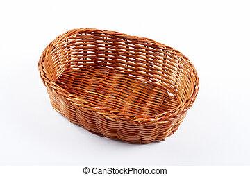 バスケット, 枝編み細工, 空