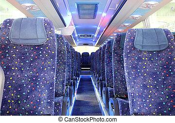 バス, 中, 新しい