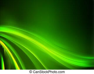 バックグラウンド。, 抽象的, 緑, eps, 8