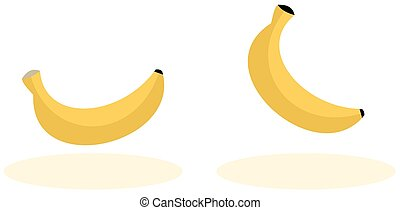 バナナ, 熟した