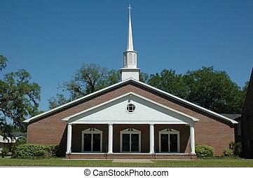 バプテスト, 教会