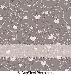 バレンタインデー, デザイン, 結婚式, ∥あるいは∥, カード