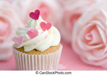 バレンタイン, cupcake