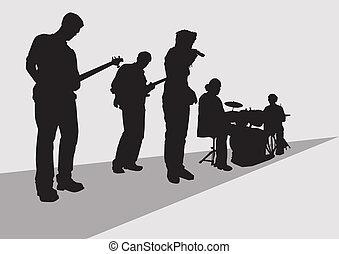 バンド, ミュージカル