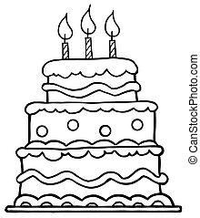 バースデーケーキ, 概説された