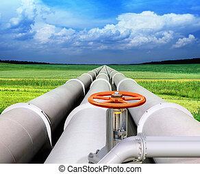 パイプライン, gas-transmission
